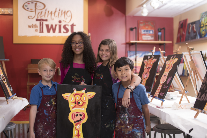 Meet Amanda Dossey Of Painting With A Twist In Atlanta Buckhead
